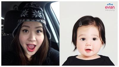 Evian Baby&Me, Aplikasi Untuk Mengetahui Wajah Calon Bayi