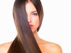 Rambut Panjang Alami Dengan Minyak Kelapa