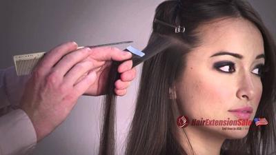 Satu Hari Panjangkan Dengan Micro Rings Hair Extension