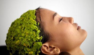 Cara Mengatasi Rambut Rusak Dengan Pisang & Alpukat