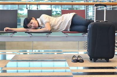 9 Tips untuk Tidur Aman dan Nyaman di Bandara