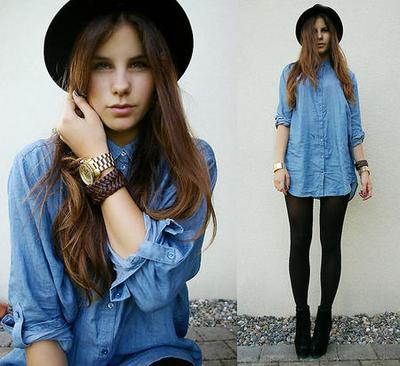 Mix n' Match: Denim Shirt yang Kasual