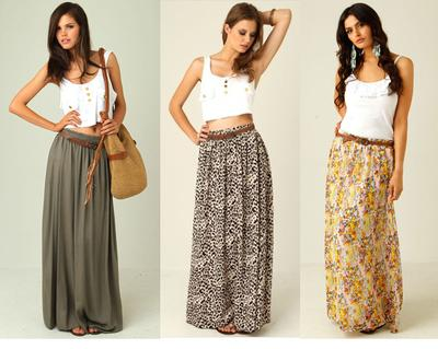 Mix N' Match: Maxi Skirt