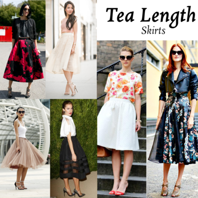 Mix N' Match: Tea-Length Skirt