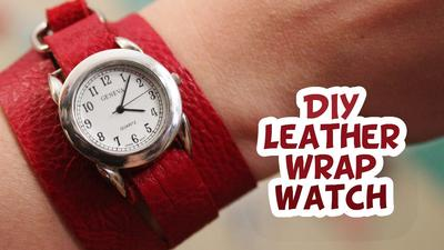 Kreasi Wrap Watch DIY