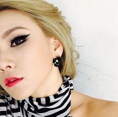 Cantiknya Gaya Eyeliner ala CL 2NE1
