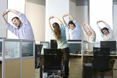Olahraga Rahasia Sehat Saat Bekerja