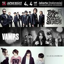 Musisi Jepang Ternama Ramaikan JAPAN NIGHT in Jakarta (Indonesia) 2015