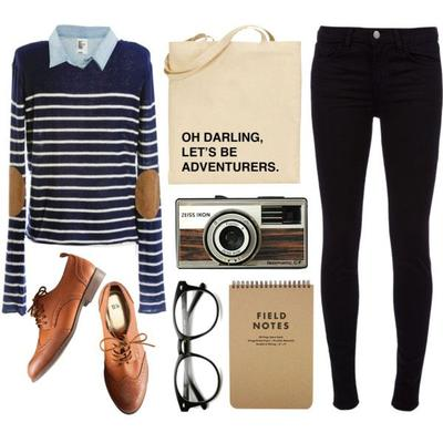 Mix n Match: Preppy Look