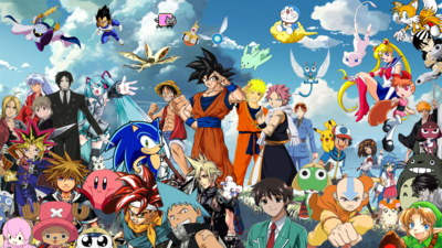 10 Anime Populer di Indonesia