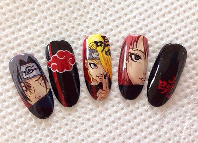 Inspirasi Cute Nail Art Ala Anime untuk Kamu yang Selalu Ingin Tampil Beda