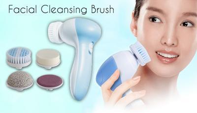 Bersihkan Wajah Secara Maksimal dengan Facial Cleansing Brush