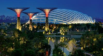 Mampir ke Gardens By The Bay di Singapura