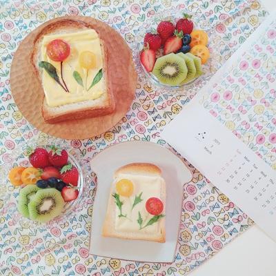"""Cerahkan Pagimu dengan Sarapan """"Flower Toast""""!"""