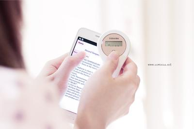 Comunica: Toshiba Digital Clinical Thermometer simple dan mudah digunakan