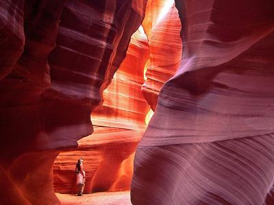 9. Antelope Canyon, Arizona, Amerika Serikat
