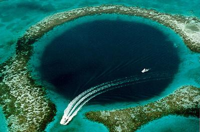13. The Great Blue Hole, Belize