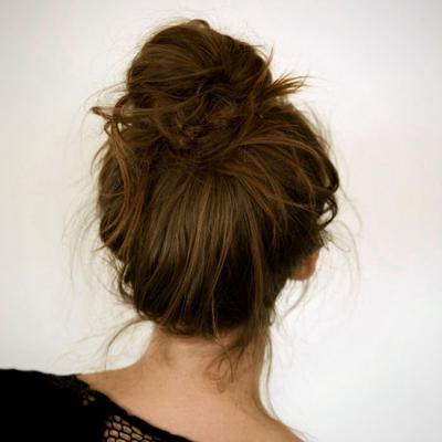 Membuat Bun HairStyle