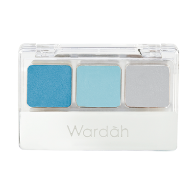 Wardah Trio Eyeshadow