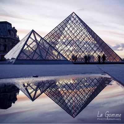 Musee du Louvre, Paris, Perancis