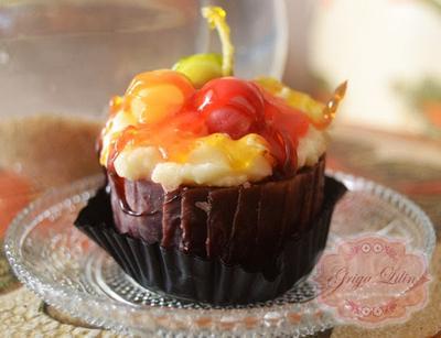 Lilin Cake Buah