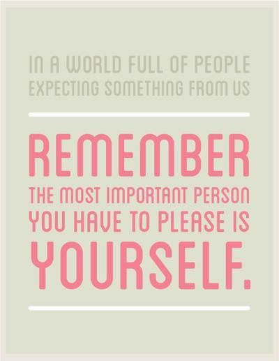 Jangan Lupakan Diri Sendiri