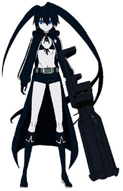 2. Black Rock Shooter - Black Rock Shooter