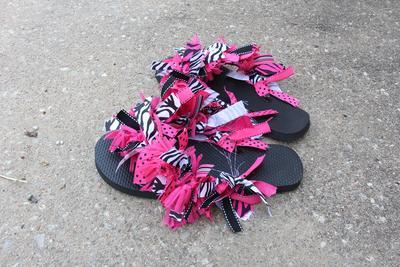 16. Ribbon Flip Flops