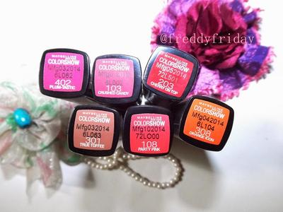 Lipstik Maybelline Colorshow, Yay or Nay?