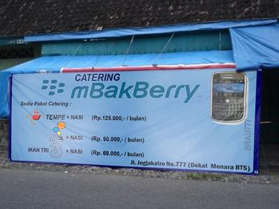 Catering mBakBerry