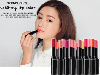 3 Concept Eyes Creamy Lip Color (Review)