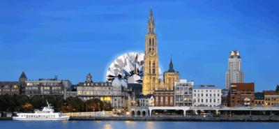 5. Antwerp, Kota Berlian