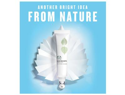 Review Pengguna: The Body Shop Moisture White Shiso 2 in 1 Brightening Eye Cream