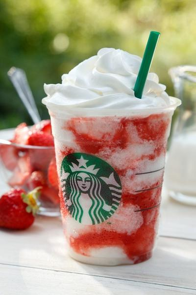 1. Strawberry Creme Frappuccino