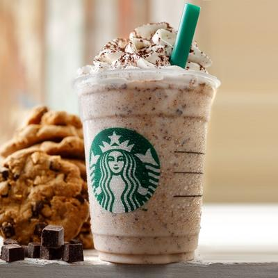 3. Chunky Cookie Frappuccino with Chocolate Chip