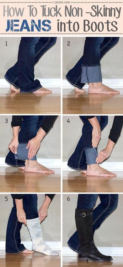 Ubah Cutbray Menjadi Skinny Jeans