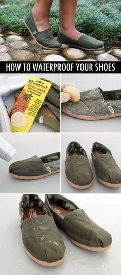 Membuat Sepatu Canvas Waterproof