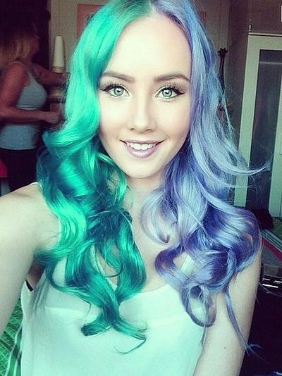 Pretty Aquagirl