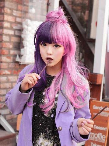Cutie Pink Purple Candy