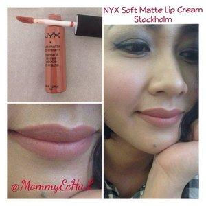 NYX Soft Matte Lip Cream Stockholm