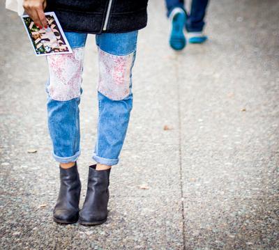 Jadi Trendsetter dengan Patchwork Jeans