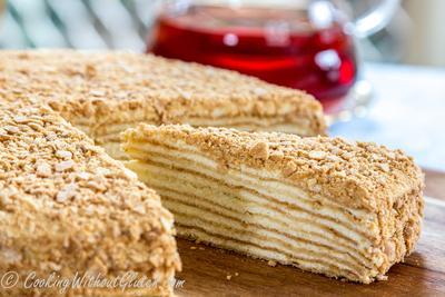 Napoleon Cake (Mille-feuille)