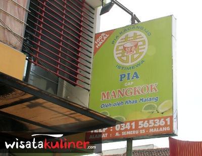Toko yang Menjual Pia Mangkok di Malang