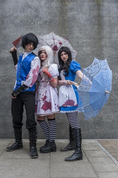 Alistair, Hysteria, dan Alice dari Alice: Madness Returns