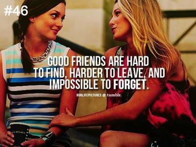 Sahabat itu orang yang takkan terlupakan