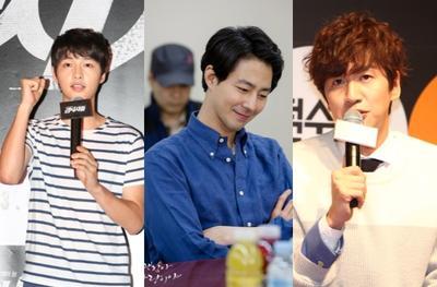 Usai Wamil, Song Joong Ki Reuni Dengan Lee Kwang Soo & Jo In Sung