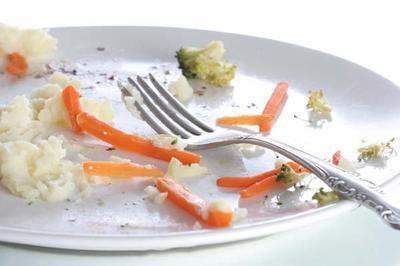7. Menyisakan Makanan
