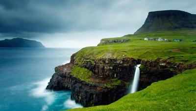 Gasadalur - Pulau Faroe