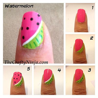 Fruit in My Nail