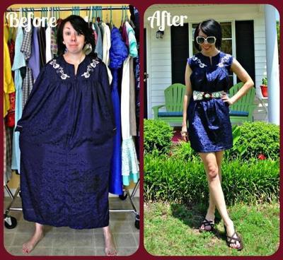 Contoh Inspirasi Re-style baju